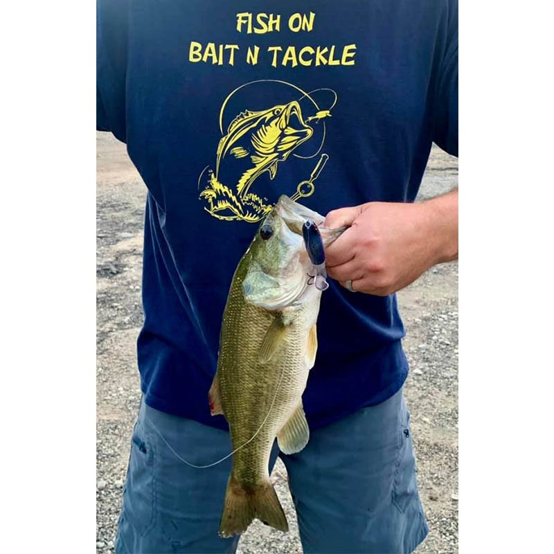 A good one caught on a prop bait sold at Fish On Bait N Tackle in Waterloo