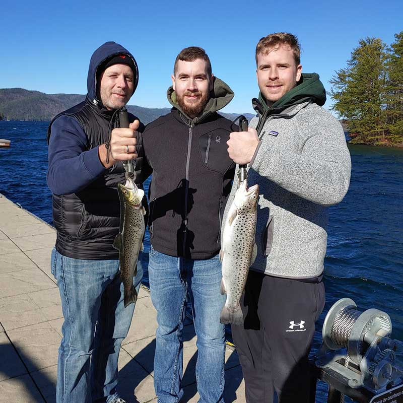 Some nice fish caught Wednesday with Guide Sam Jones