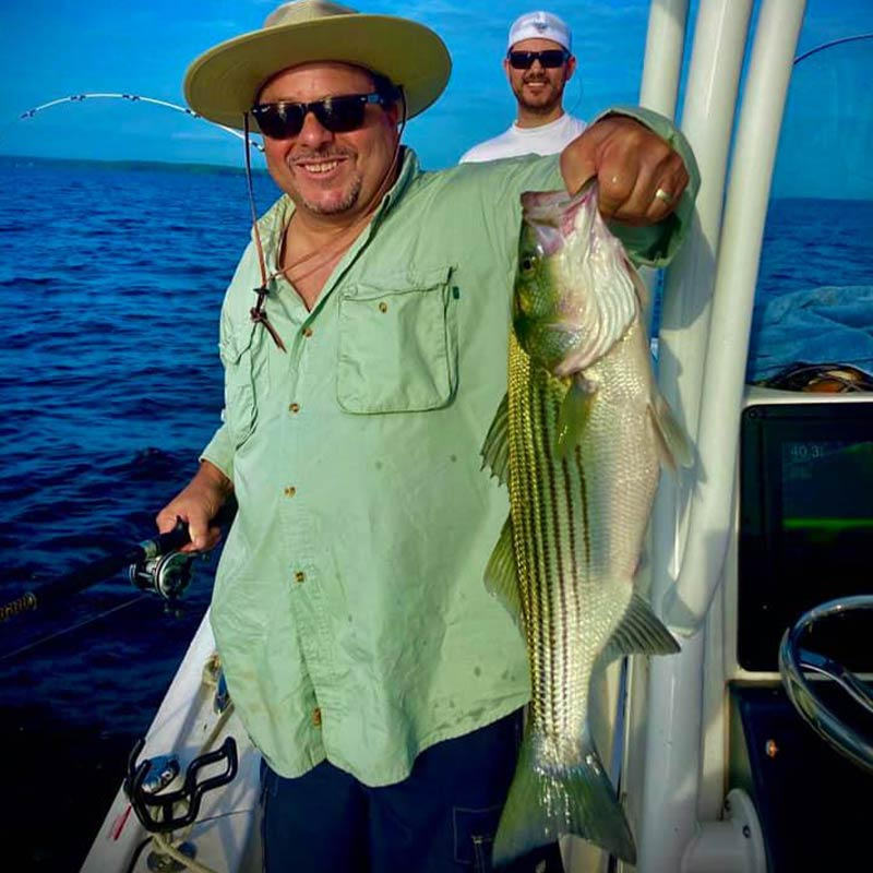 A good one caught this week with Captain Brad Taylor
