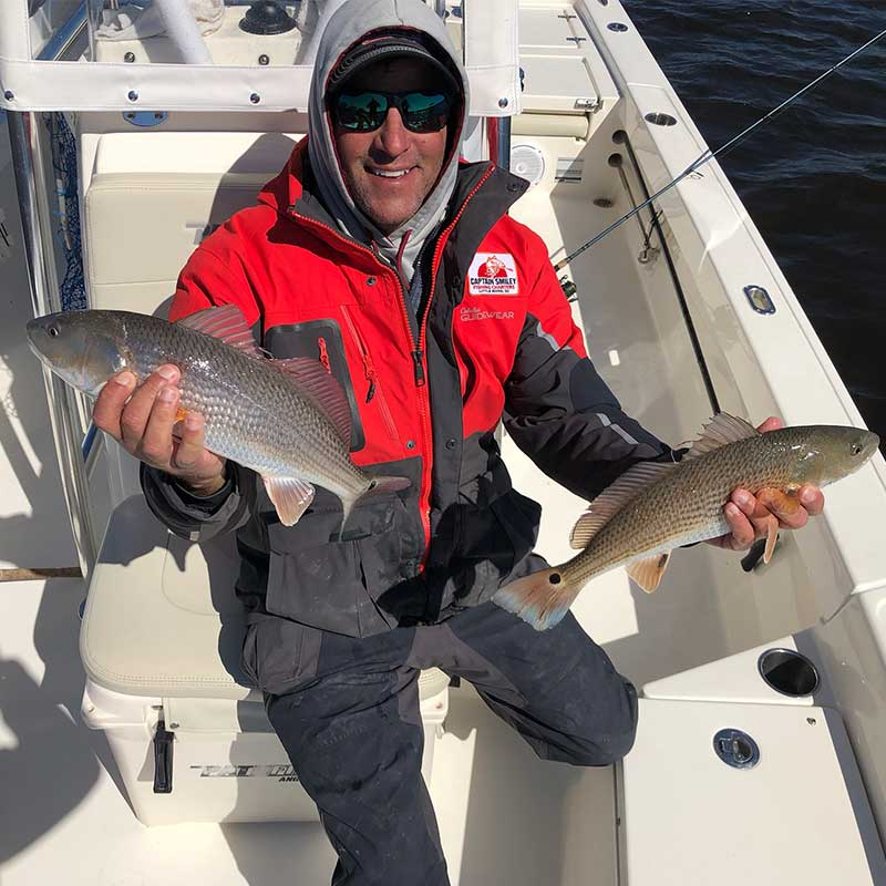 Captain Smiley with a couple of good ones