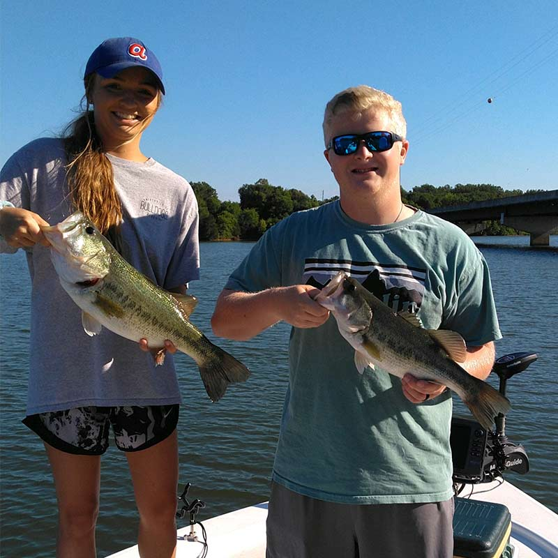 Some nice fish caught with Jerry Kotal on Lake Russell
