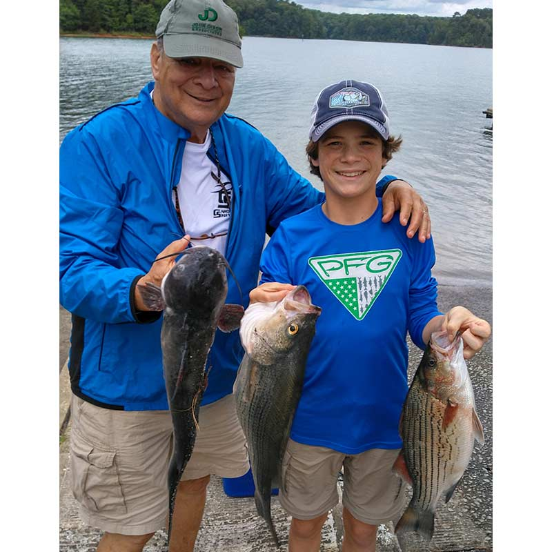 A few good ones caught this week with Guide Jerry Kotal