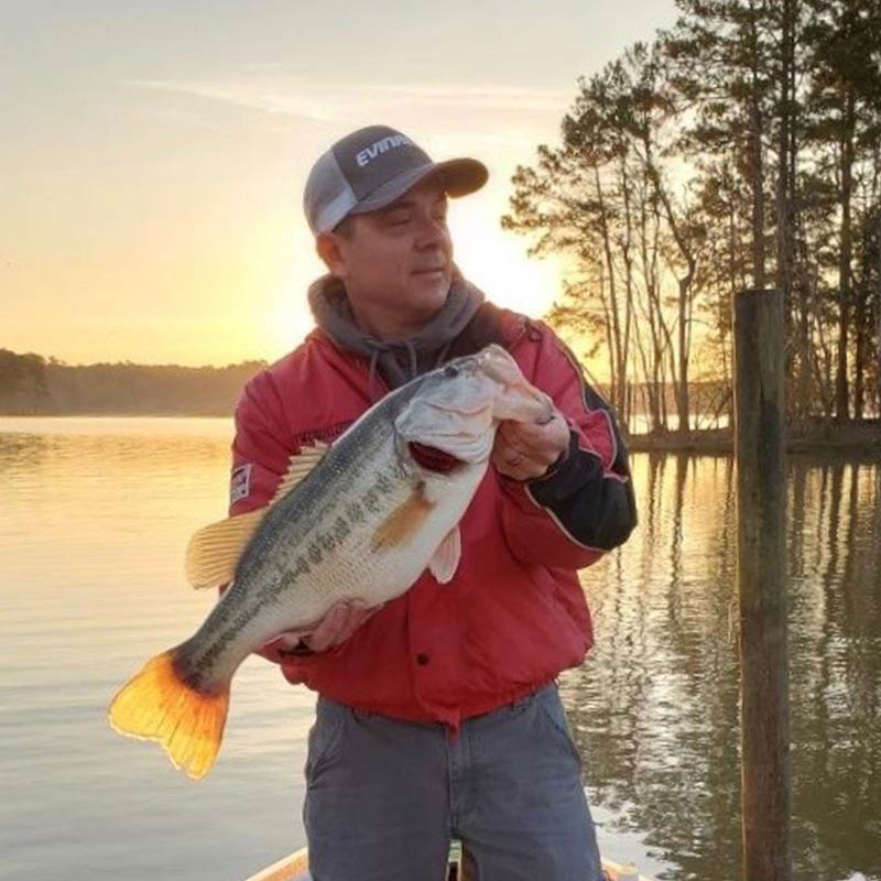 Dearal Rodgers with a 7-pounder caught one day too early this week