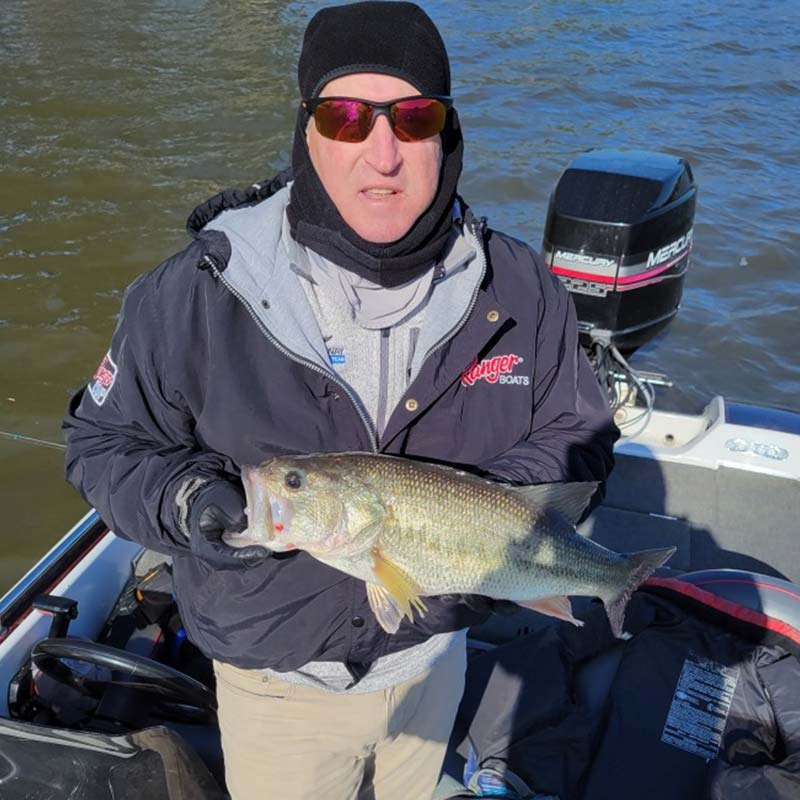 Pat Whaley with a good one caught this morning