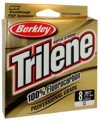 Berkley Trilene 100% Flourocarbon Line Clear - Angler's Headquarters