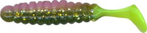 "Charlie Brewer 1.5"" Crappie/Panfish Slider Grub - Angler's Headquarters"
