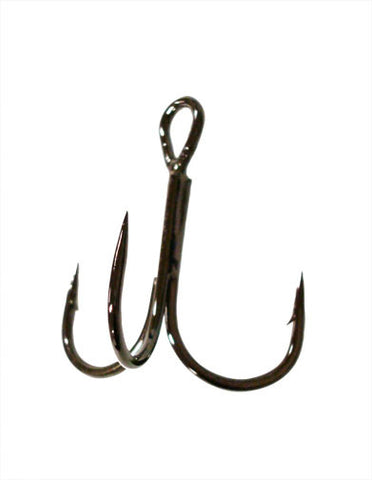 Owner Stinger Treble Hook Black Chrome ST-36 - Angler's Headquarters