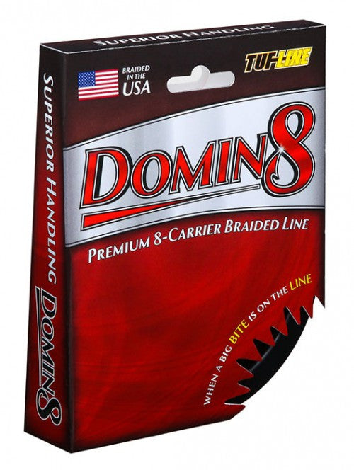 TUF Line Domin8 Braided Line - 150 yds - Angler's Headquarters