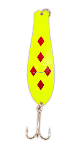 Yellow Bird Fishing Doctor Spoon