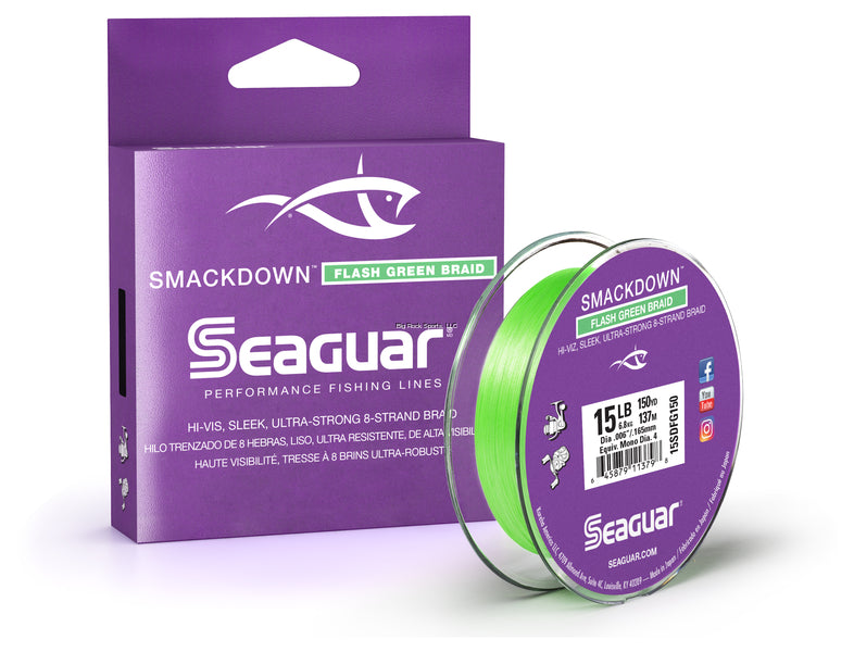 Seaguar Smackdown Braided Line - 150 yds - Angler's Headquarters