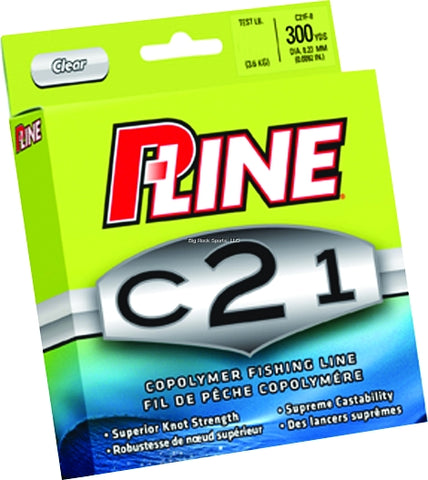 P-Line C21 Copolymer Fishing Line (300yds) - Angler's Headquarters