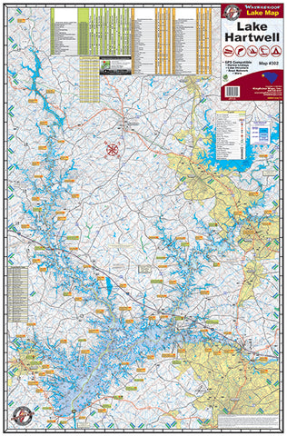 Kingfisher Georgia Lake Maps - Angler's Headquarters