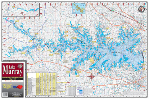 South Carolina Lake Maps - Angler's Headquarters