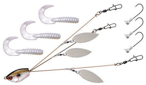 Yum Yumbrella 5-Wire and 3-Wire Flash Mob Jr. Kits - Angler's Headquarters