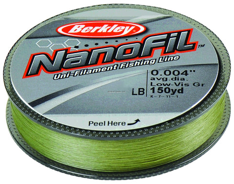 Berkley Nanofil Line - Angler's Headquarters