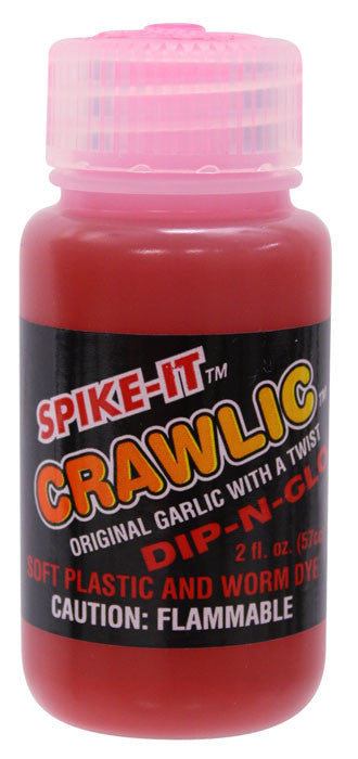 Spike It Crawlic Dip-N-Glo Worm Dye - Angler's Headquarters