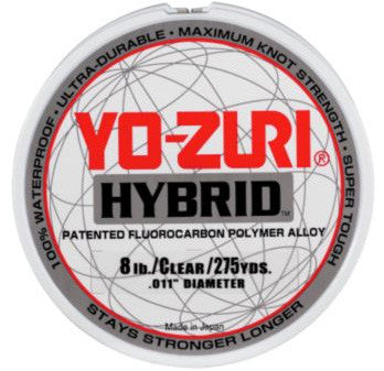 Yo-Zuri Hybrid Fishing Line Clear - Angler's Headquarters