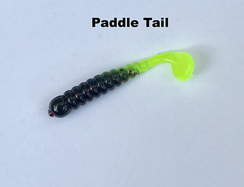 "Crappie Day Paddle Tail Jigs(1.75"") (10 pk)"