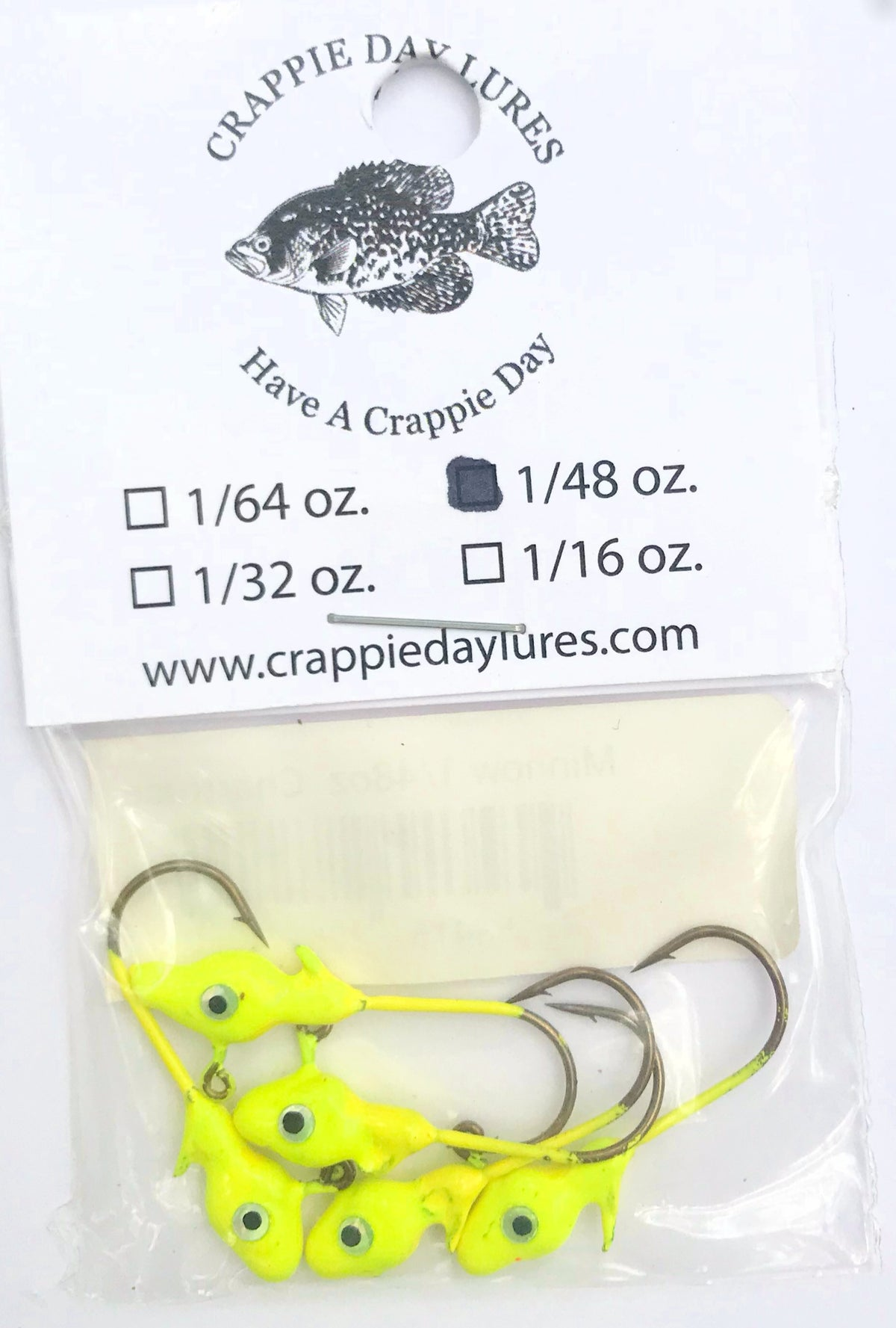 Crappie Day Minnowhead Jigheads (5 pk) - Angler's Headquarters