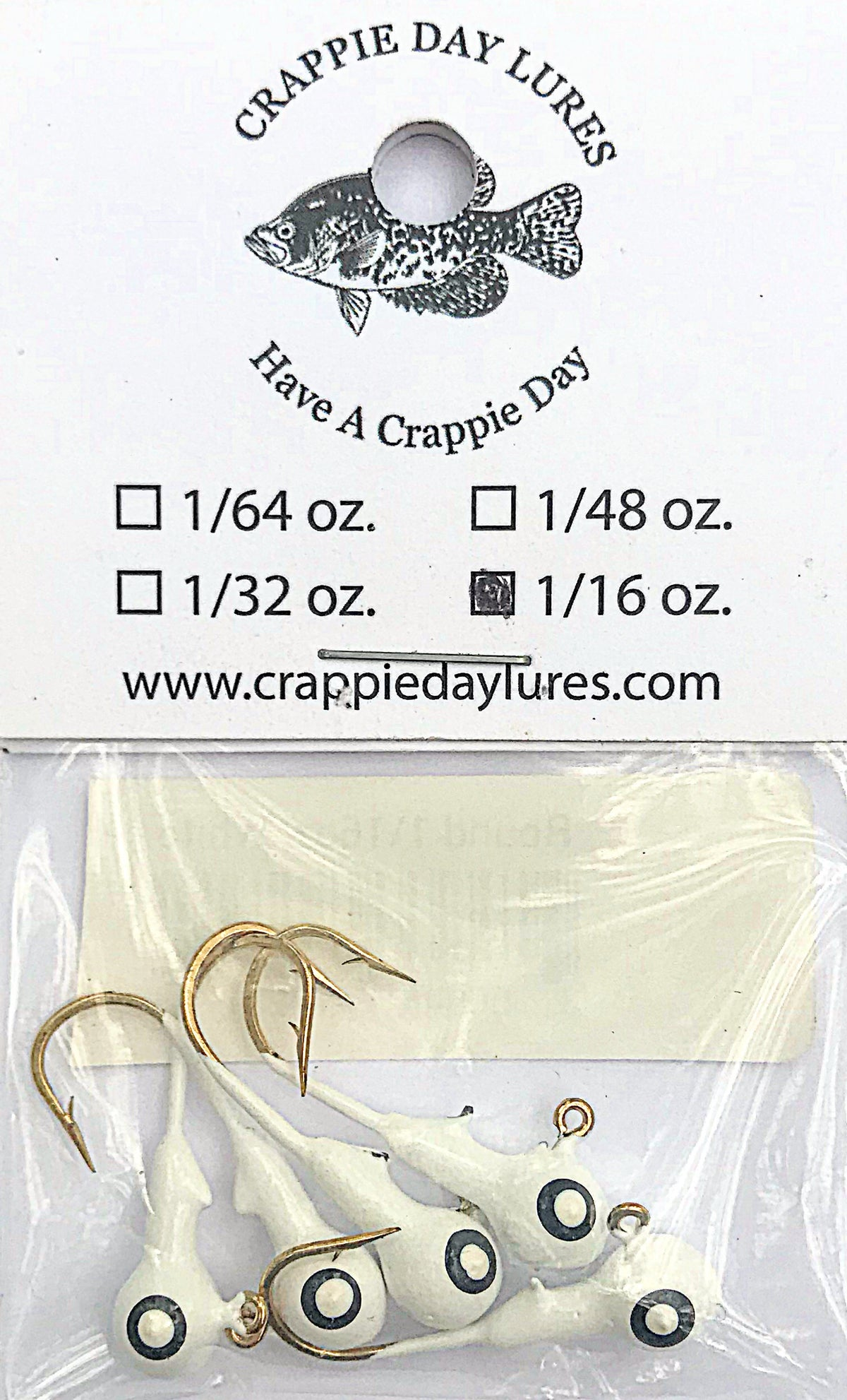 Crappie Day Round Jigheads ( 5 pk) - Angler's Headquarters
