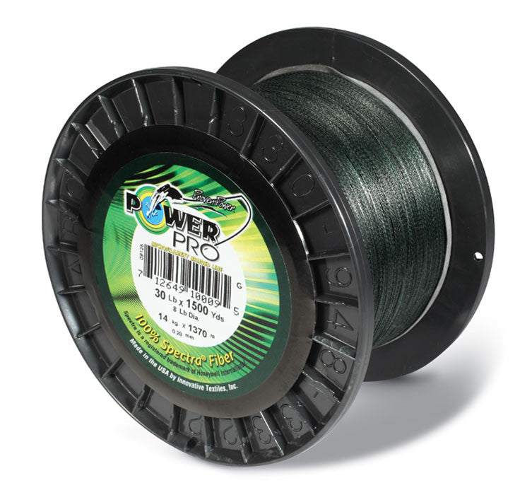 Power Pro Spectra Braided Line Moss Green - Angler's Headquarters