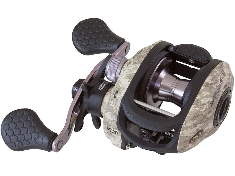 Lew's American Hero Camo Speed Spool Casting Reel - Angler's Headquarters