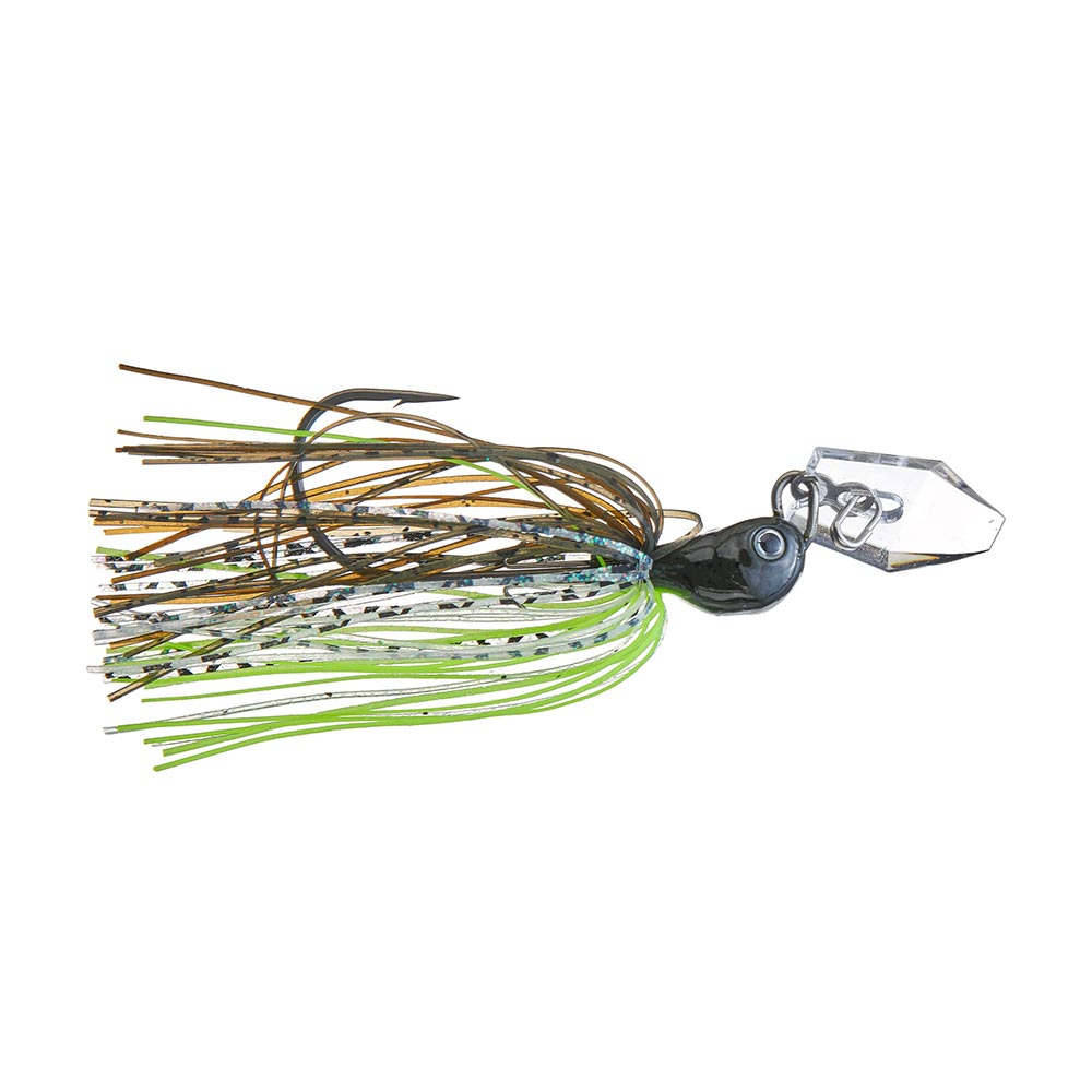 Z-Man Evergreen Chatterbait Jack Hammer Stealth Blade