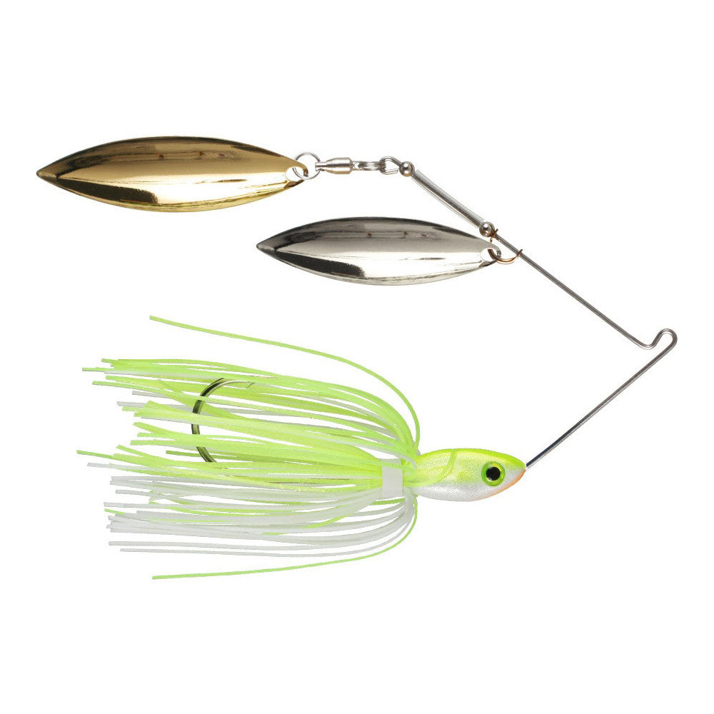 Buckeye Lures Double Bladed Spinnerbaits (Willow/ Willow Blades)