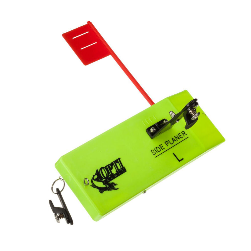 Opti Tackle Planer Board with Flag System - Angler's Headquarters