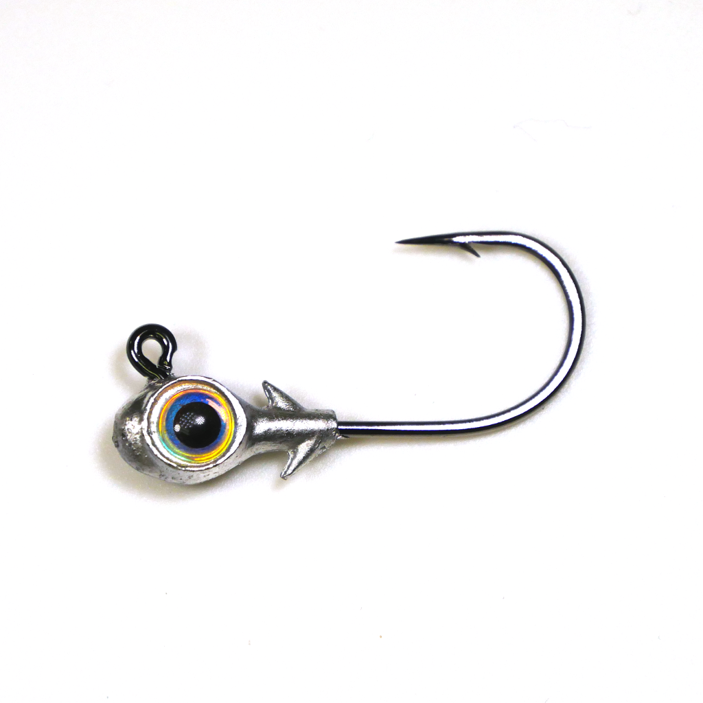 "Eye Strike Trout Eye ""Finesse"" Jig Heads (1/0 Hook) (3 pk) - Angler's Headquarters"