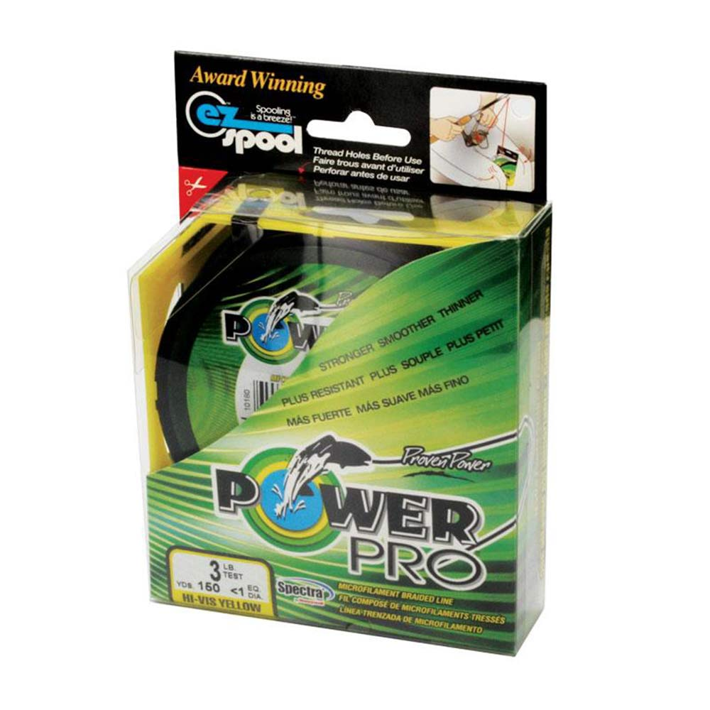 Power Pro Spectra Braided Line Yellow