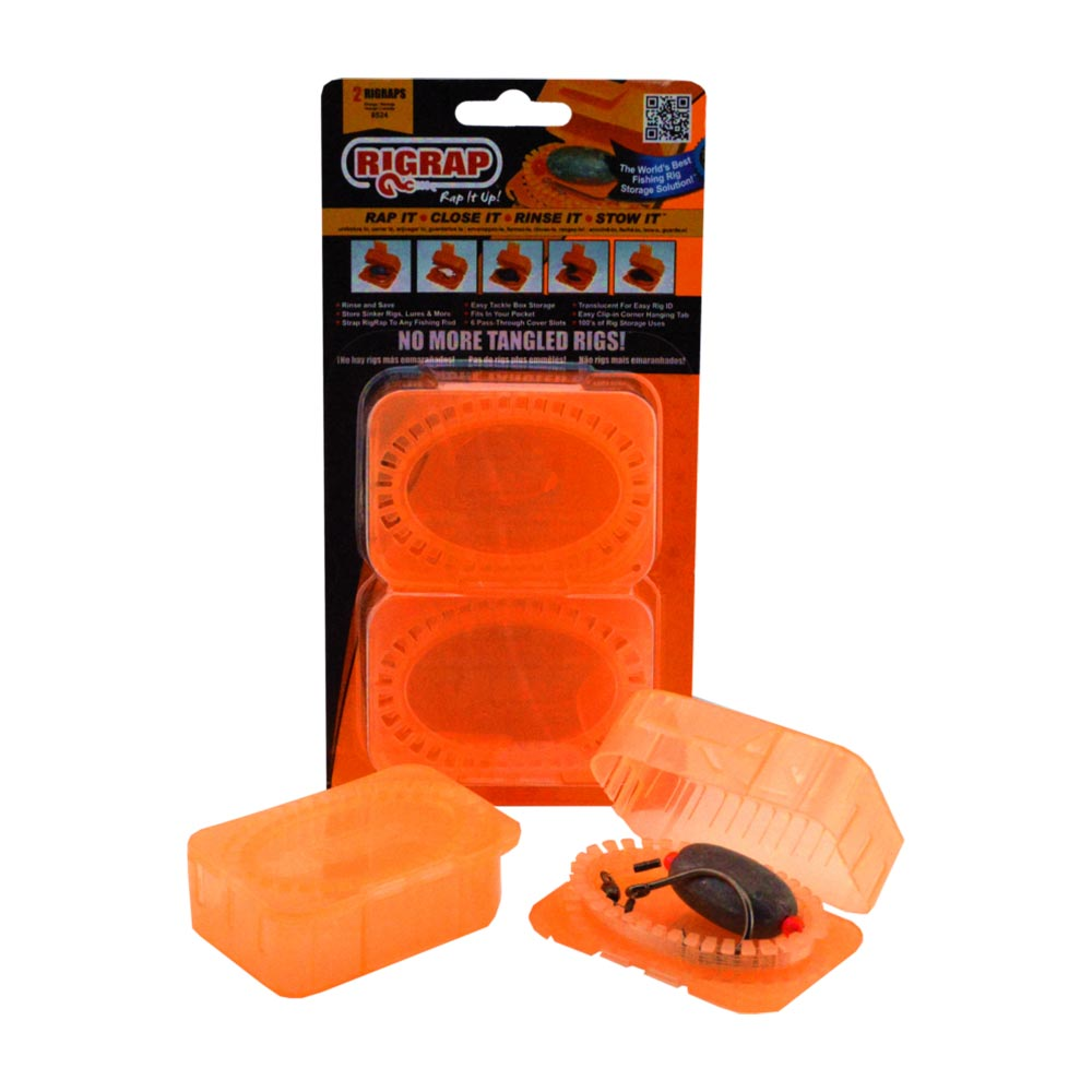 RigRap Orange Rig Storage  (2 Pack)