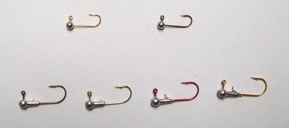 Fish Stalker Round Jig Heads (10 Pack) - Angler's Headquarters
