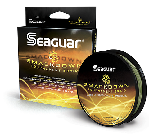 Seaguar Smackdown Braided Line Green - 150 yds