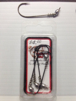 Shane's Baits Jig Heads (Spring on Shaft) - Angler's Headquarters