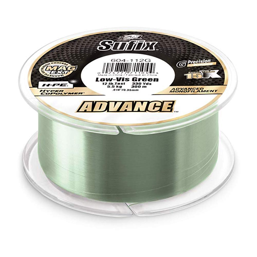 Sufix Advance Clear Monofilament - Angler's Headquarters