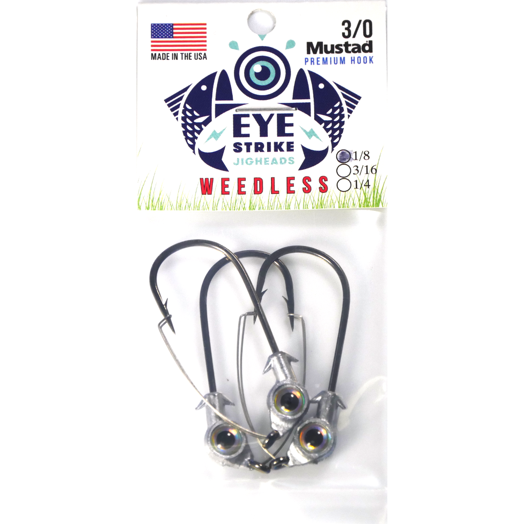 Eye Strike Weedless Jigheads - Angler's Headquarters