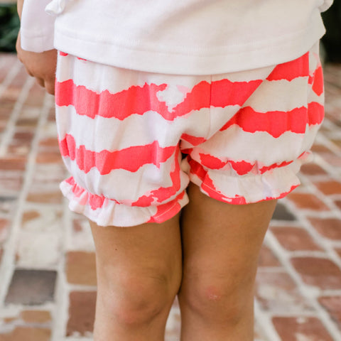 Bloomers in Watermelon Waves