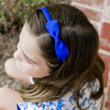 Royal Blue Bow Headband