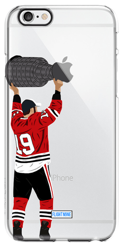 """Hold the Cup"" iPhone Clear Case (SALE)"