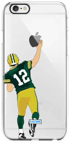 """QB12"" iPhone Clear Case"