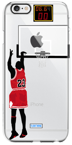 """Last Shot"" iPhone Clear Case"