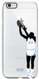 """Throwback GOAT"" iPhone Clear Case"