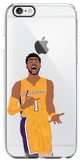 """Ice In My Veins"" iPhone Clear Case (SALE)"