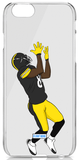 """""""Black and Yellow"""" iPhone Clear Case"""