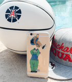"""Dunk Contest"" iPhone Clear Case"