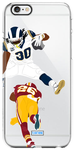 """LA Hurdle"" iPhone Clear Case"