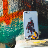 """The Step Over"" iPhone Clear Case"