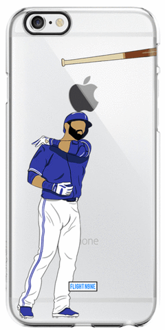 """Bat Flip"" iPhone Clear Case"