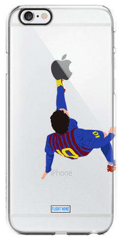 """Bicycle Kick"" iPhone Clear Case"